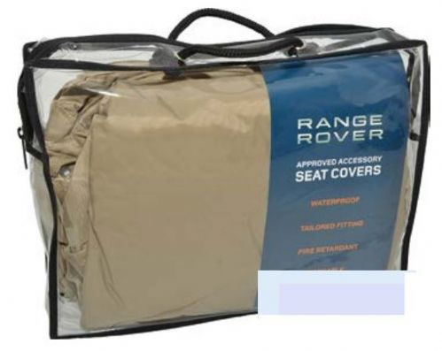 Range Rover L405 - Rear Seat Covers